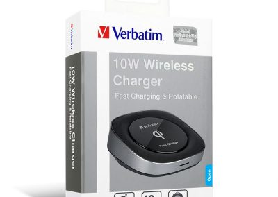 Qi Rotatable Fast Charging Wireless