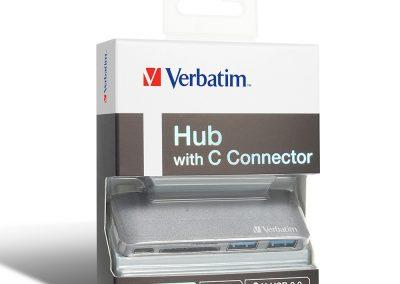 Hub With C Conector