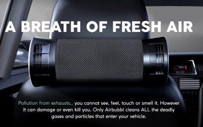 Dapatkan Air Purifier Mobil Terbaik dengan Airbubbl